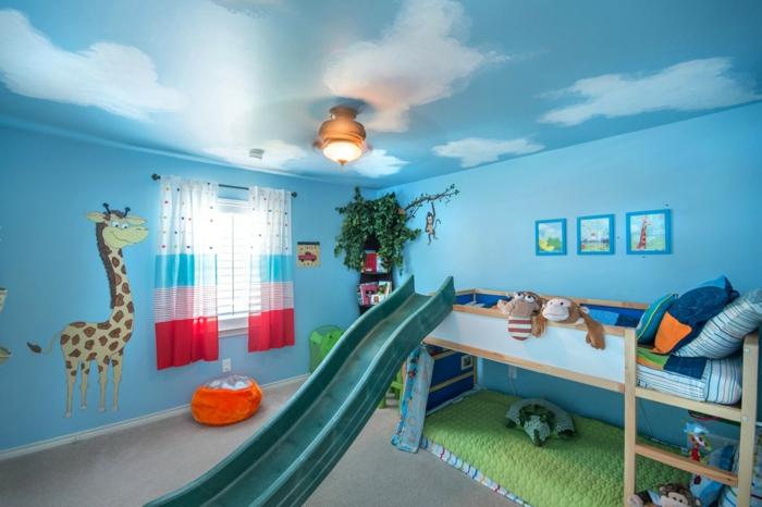 Kinderzimmer-Deko-Himmeldecke