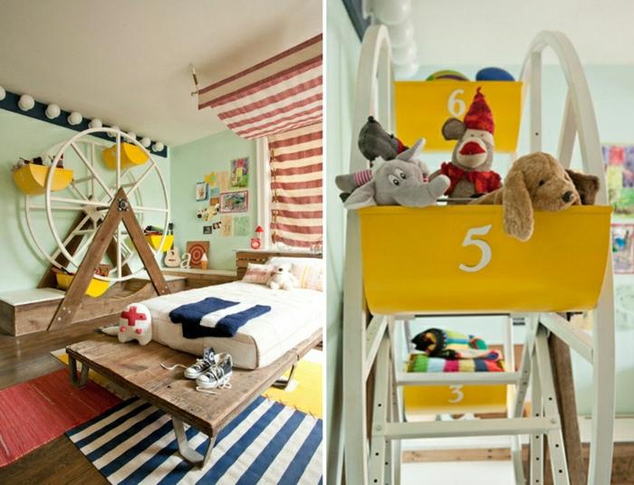 Kinderzimmer-Deko-Riesenrad