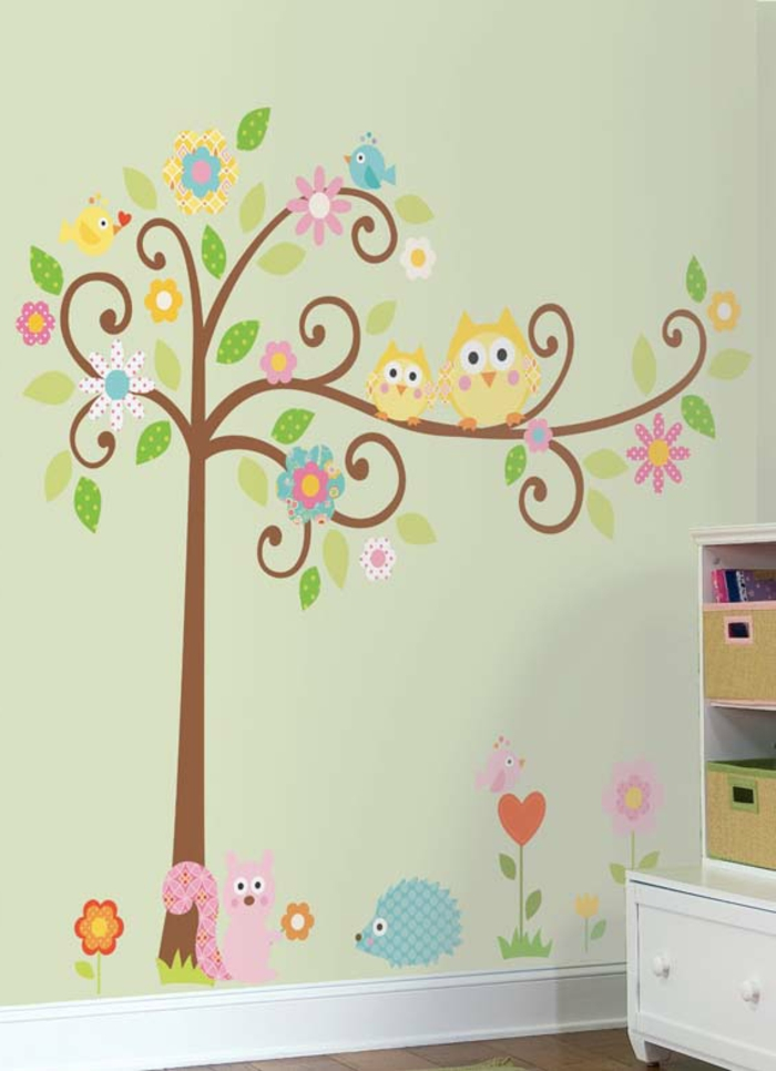 Kinderzimmer-Deko-Wanddekor