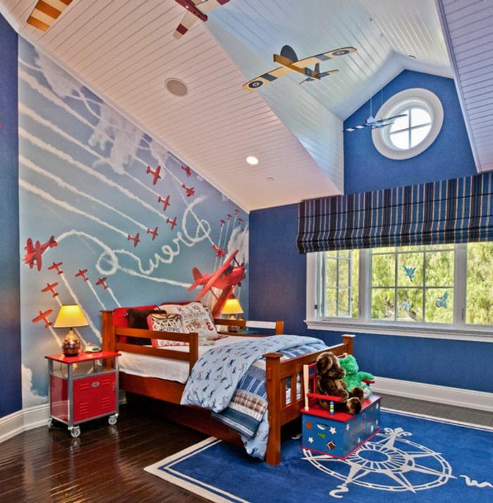 Kinderzimmer-Deko-fliegende-Flugspielzeuge