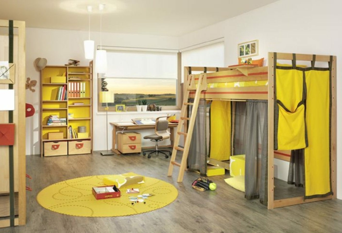 40 interessante beispiele f r kinderzimmer deko. Black Bedroom Furniture Sets. Home Design Ideas