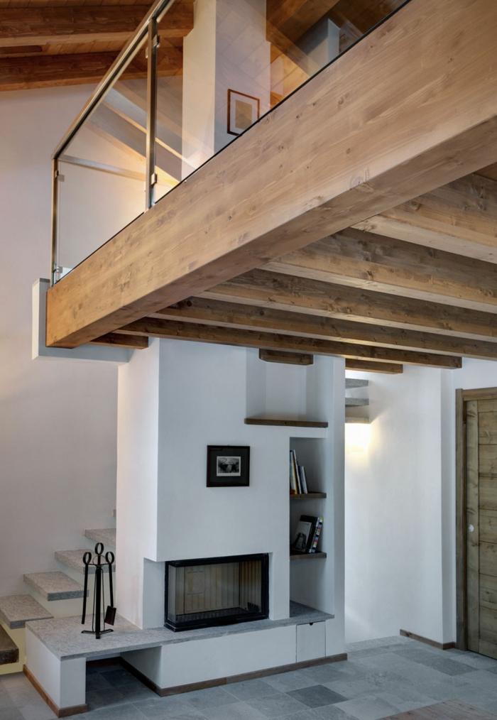 Landhaus-einrichtung-Glass-Holz