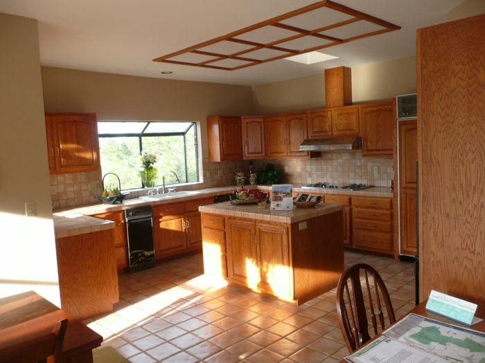 Landhaus-einrichtung-Küche-alt-Modell