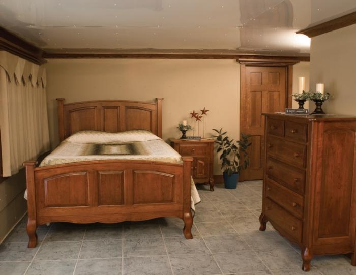 Landhaus Einruchtung Französisch Schlafzimmer