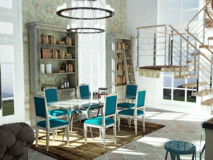 Landhaus-einruchtung-Hängeboden-Dachgeschoss