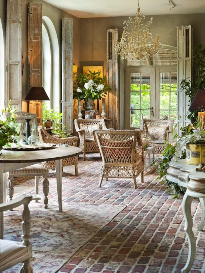 landhaus einrichtung 85 ideen f r ihre villa. Black Bedroom Furniture Sets. Home Design Ideas
