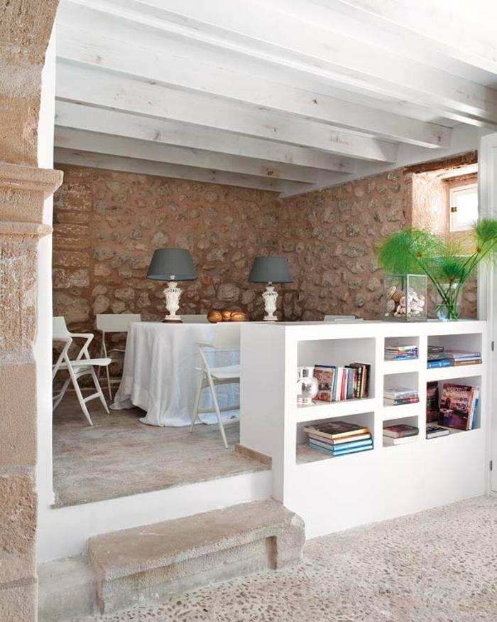 Mallorca-Landhaus-einruchtung-Stein