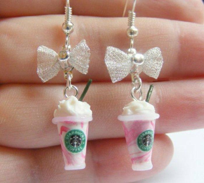 Ohrringe-Becher-Eis-Starbucks-inspiriert