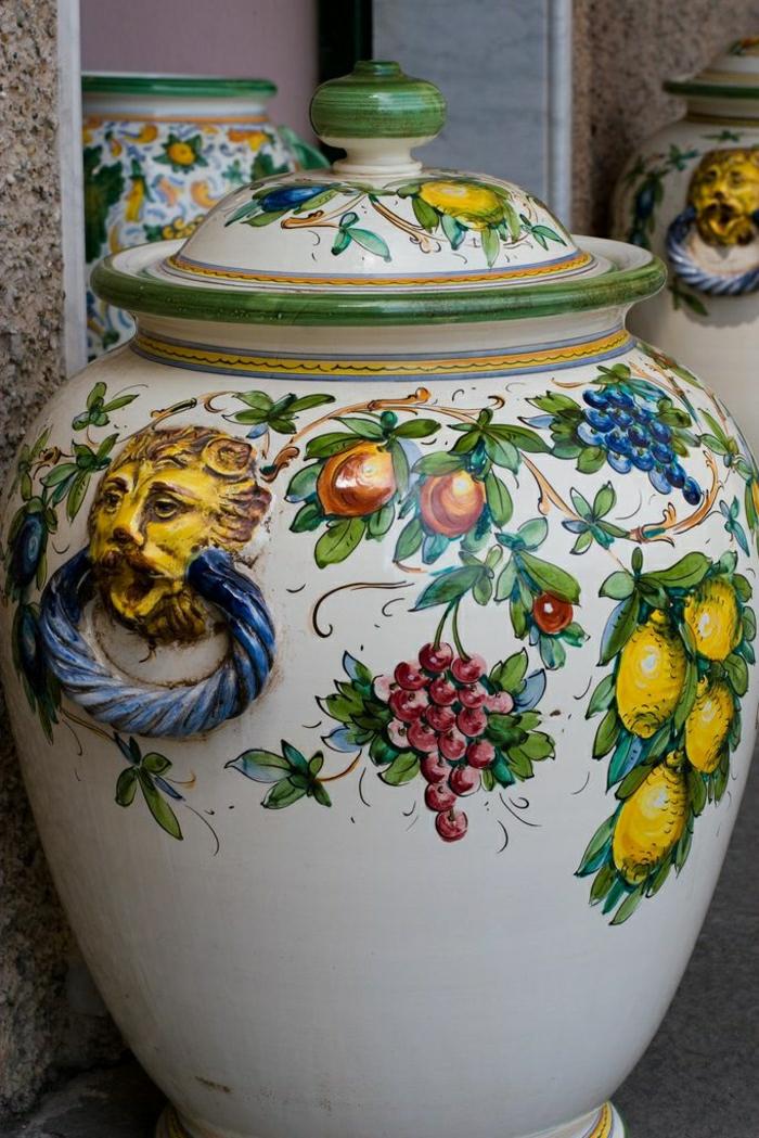 Die italienische Keramik  unvergänglich und ewig! ~ Geschirr Italien