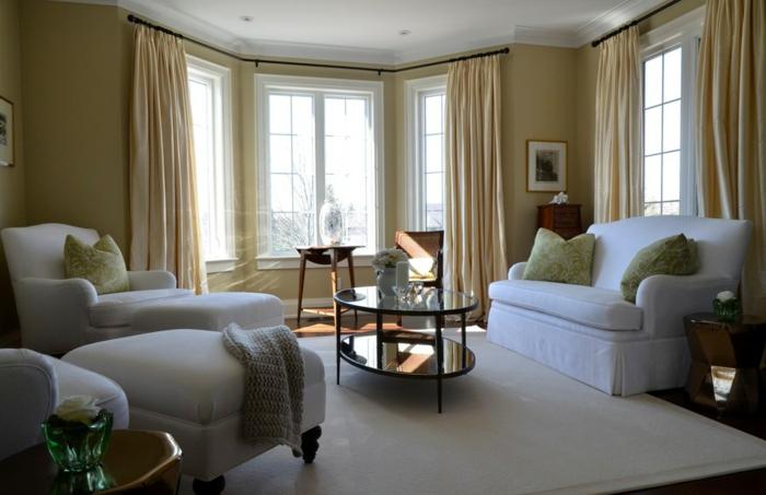 Retro-möbel-gardine-wohnzimmer