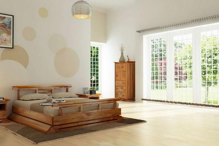 schlafzimmer tapeten f r ein attraktives aussehen. Black Bedroom Furniture Sets. Home Design Ideas