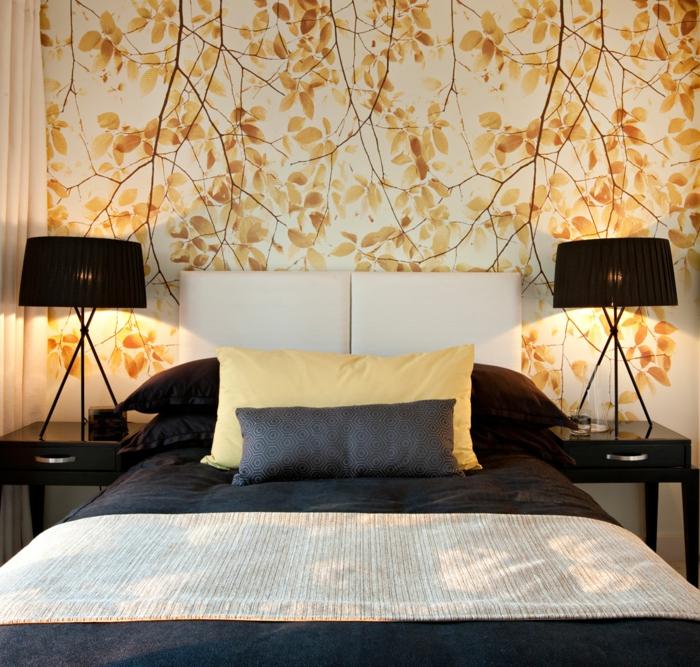 Schlafzimmer tapeten f r ein attraktives aussehen for Tapeten modelle