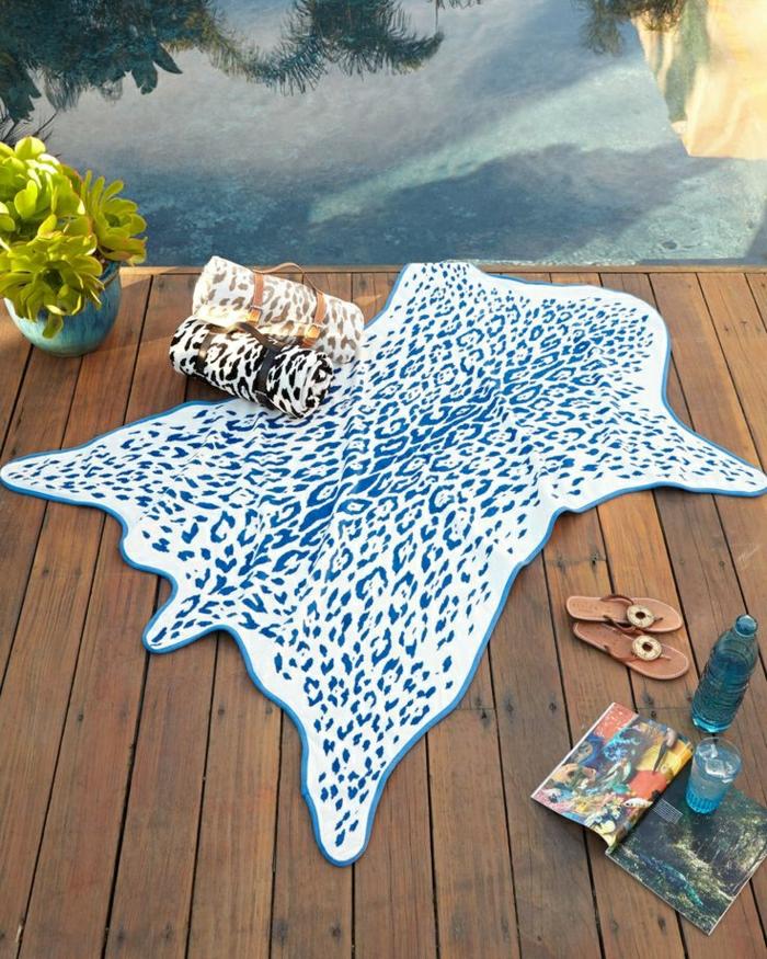 Strandtücher-Tierhaut-ähnliche-Muster