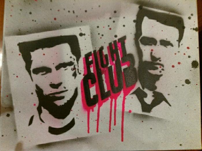 Street-Art-Fight-Club-Film-Gesichter-Schauspieler