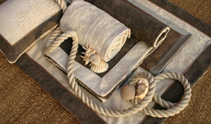 Tücher-Set-Sommer-Strand-beige-braun-italienisch