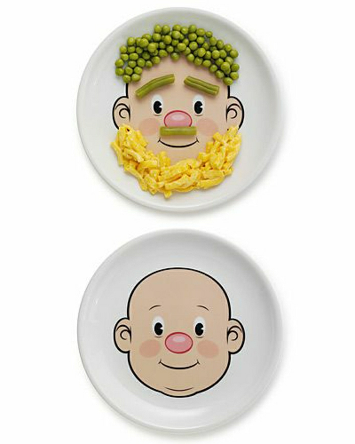 32 ideen f r lustiges kindergeburtstag essen - Teller dekorieren ...