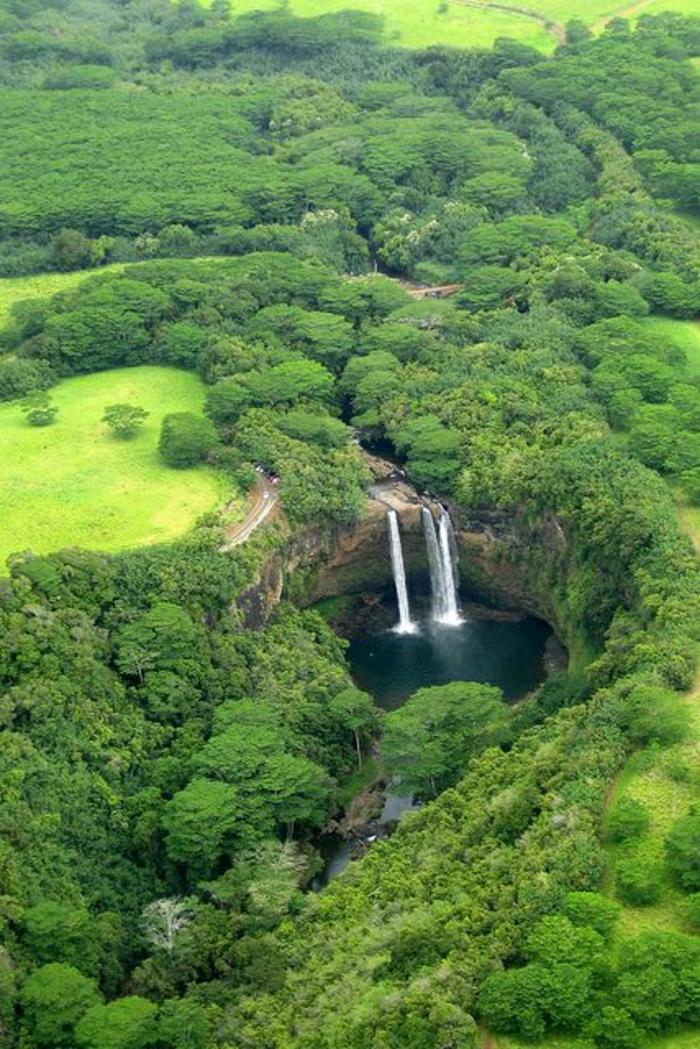Wailua-Wasserfall-Kauai-Insel-Hawaii