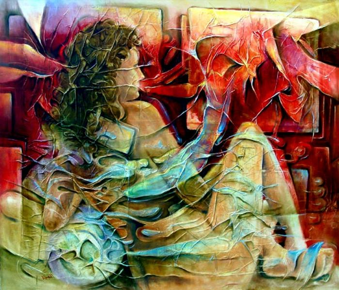 abstrakte-kunst-eine-sehr-schöne-dame