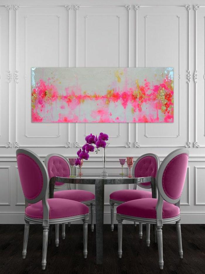 abstrakte-kunst-esszimmer-gestalten