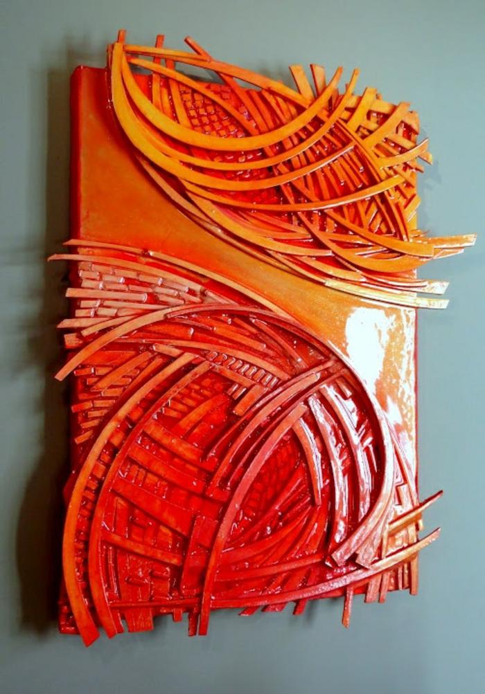 abstrakte-kunst-orange-extravagante-gestaltung