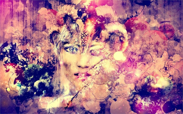 abstrakte-kunst-tolle-rosige-farbkombinationen