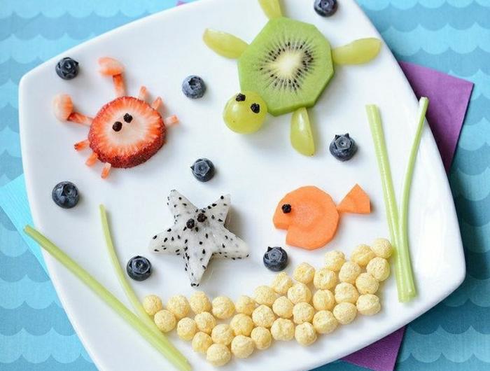Essen Dekoration 32 ideen für lustiges kindergeburtstag essen archzine