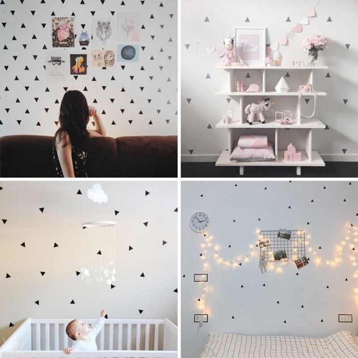 babyzimmer deko ideen, wanddeko kinderzimmer, kinderzimmerdeko ideen, wansticker