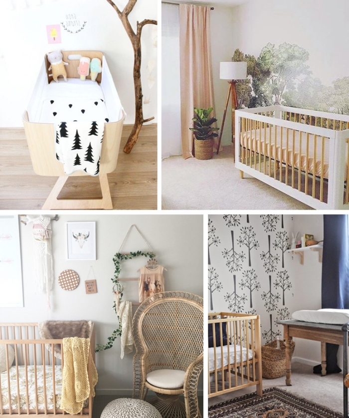 babyzimmer junge deko, kinderzimmer gestalten ideen, babybett auswählen, babyzimmereinrichtung