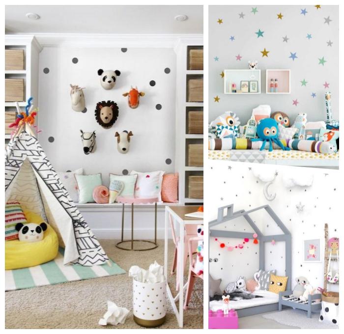 kinderzimmer einrichten und dekorieren, babyzimmer junge deko, wanddekoration ideen