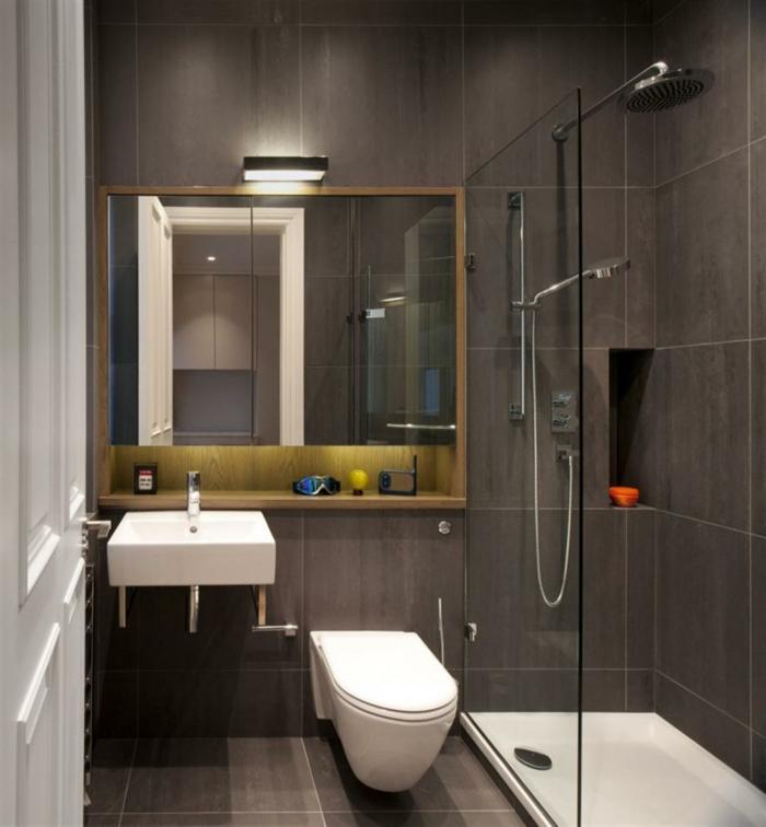 badezimmer-gestalten-braun-eingebauter-Spiegel