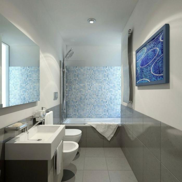 download badezimmer blau grau | lawcyber.info - Badezimmer Blau Grau