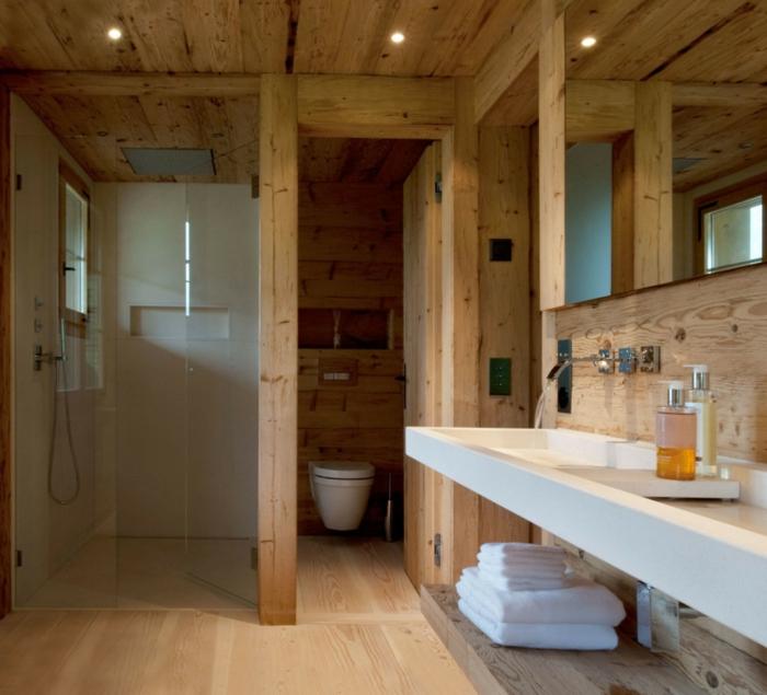 badezimmer-gestalten-verglasst-Kabine-Regal-für-Handtuch