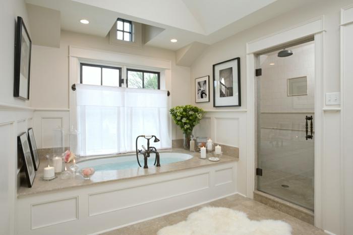 badezimmer-gestalten-weißer-Teppich-viele-Bilder
