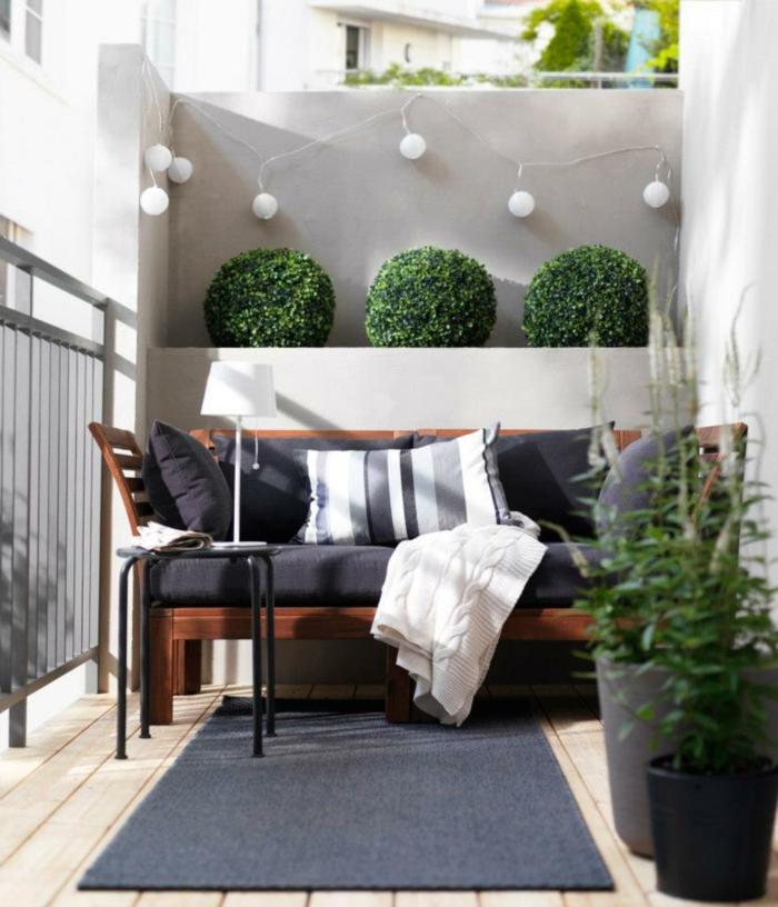40 neue ideen f r balkon dekoration - Amenagement petit balcon ...
