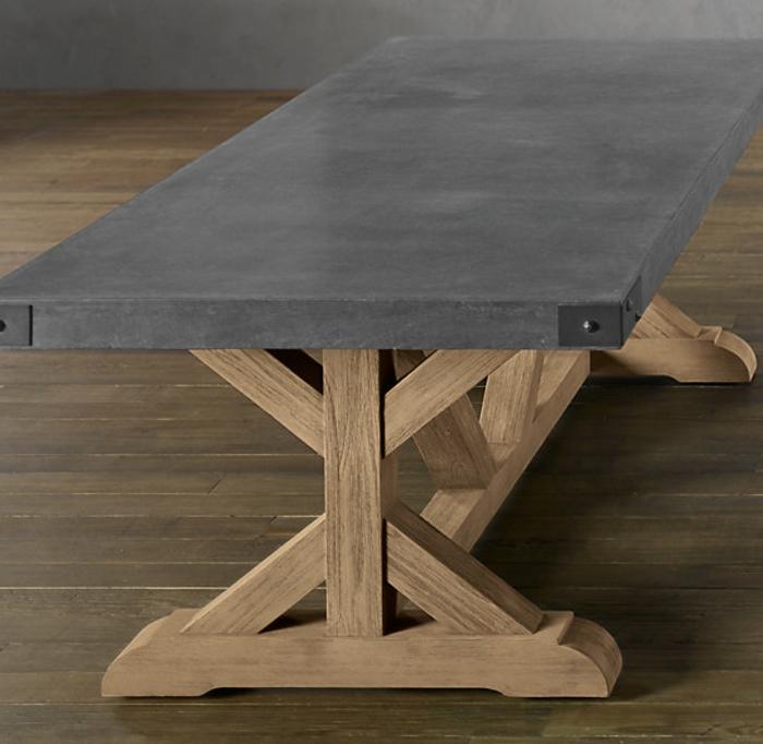 gartentisch beton garten design ideen um ihr zuhause zu. Black Bedroom Furniture Sets. Home Design Ideas