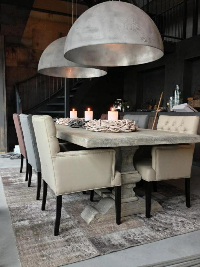 Beton tisch eine originelle einrichtungsidee for Lampen tisch