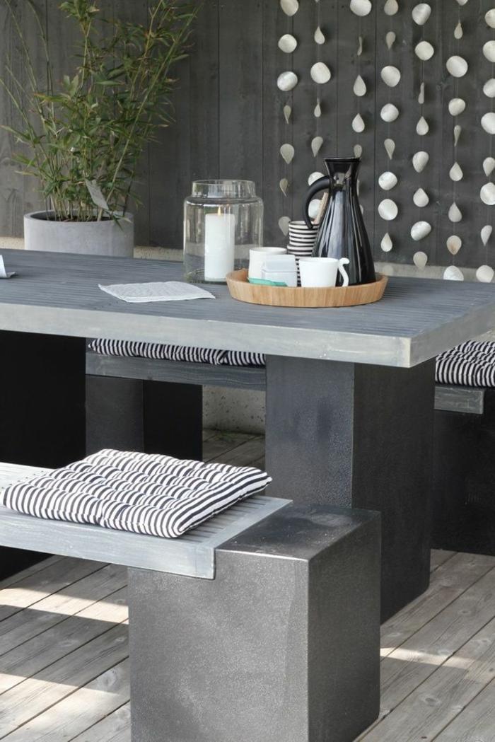 Beton Tisch Kreatives Aussehen