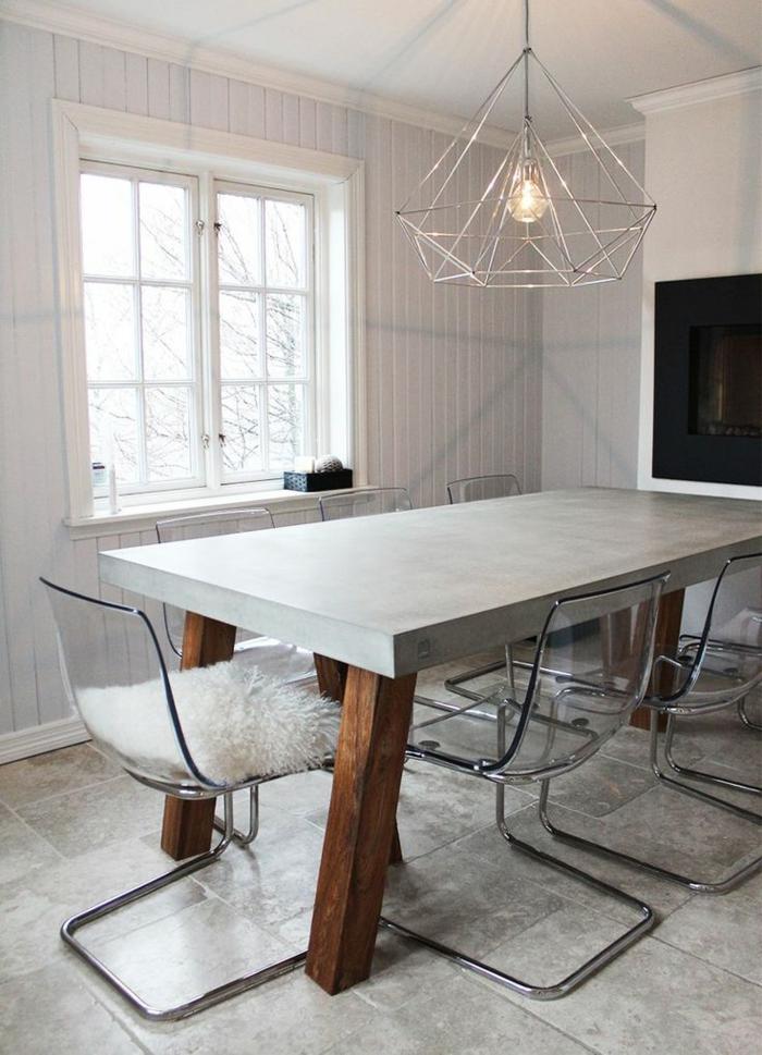 Beton Tisch Bild Inspiration Von Haus Design