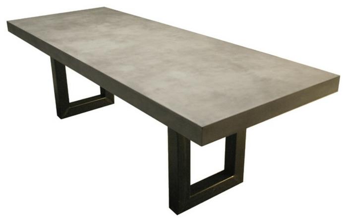 Beton tisch die neueste innovation der innenarchitektur for Tisch design 24