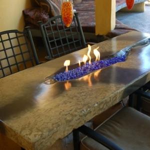 Beton Tisch? Eine originelle Einrichtungsidee!