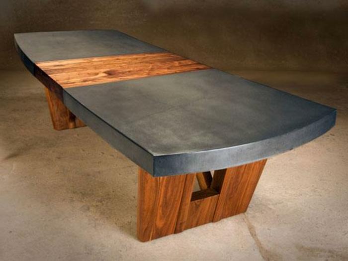 Tischplatte Aus Beton Bemerkenswert Bilder Tischplatte Betonoptik