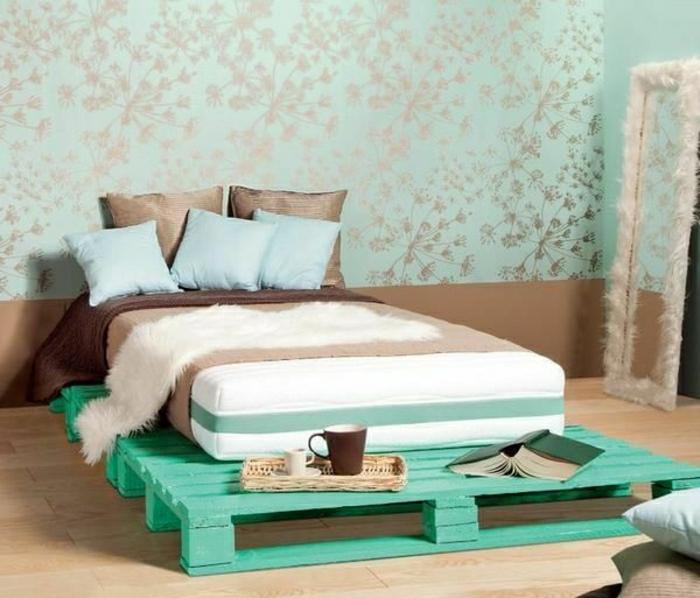 Bett aus treibholz  35 fantastische Ideen für Bett aus Paletten - Archzine.net