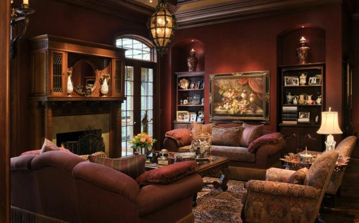 braunes-wohnzimmer-aristokratisches-ambiente