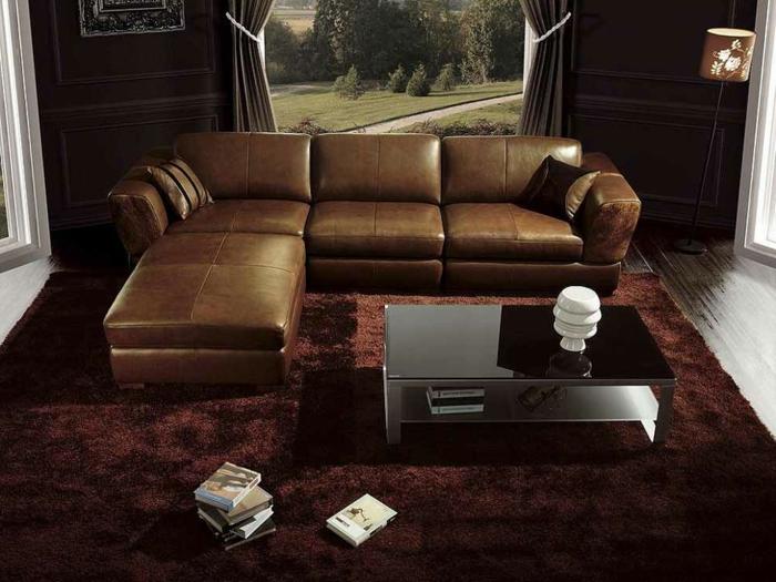 ... braun, kunstleder braun sofa wohnzimmer & couch wohnlandschaften