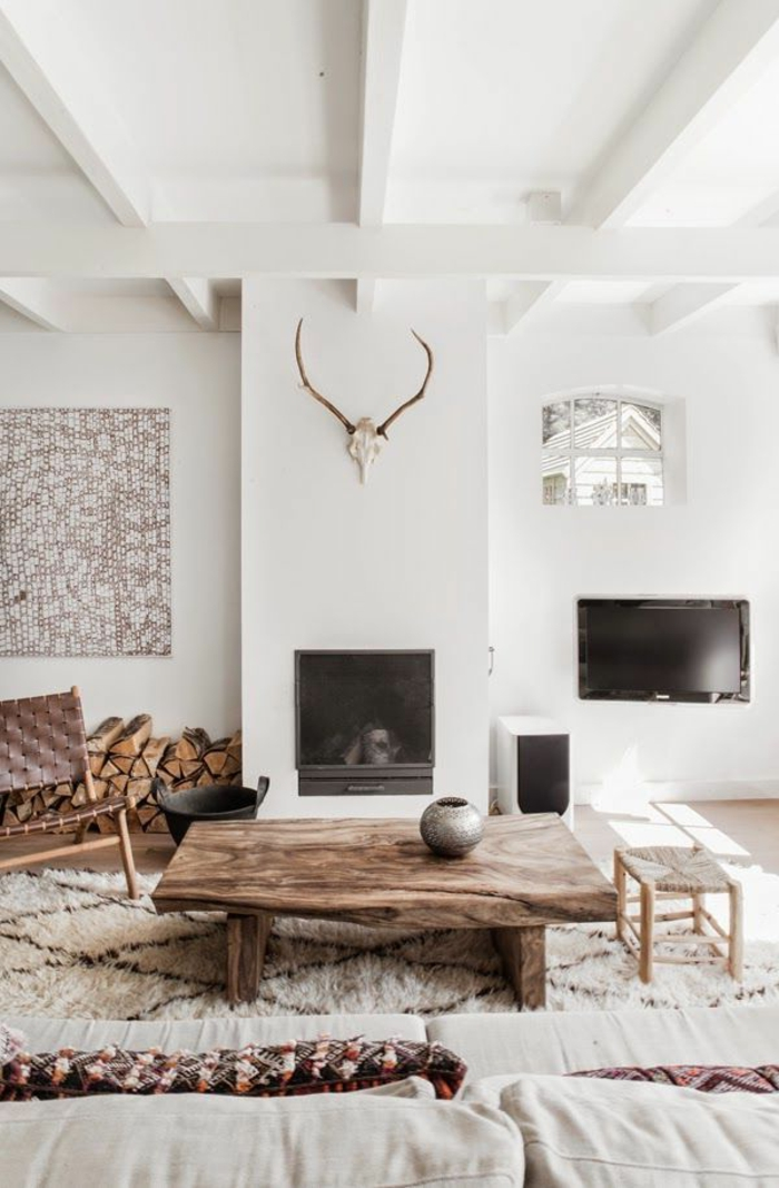 braunes-wohnzimmer-weiße-gestaltung