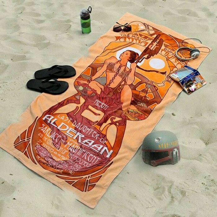 cooles-Tuch-Strand-interessantes-Muster
