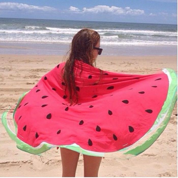 cooles-Wassermelone-Tuch-Strand