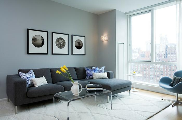 dekoration-im-wohnzimmer-elegante-gestaltung-drei-bilder-an-der-wand