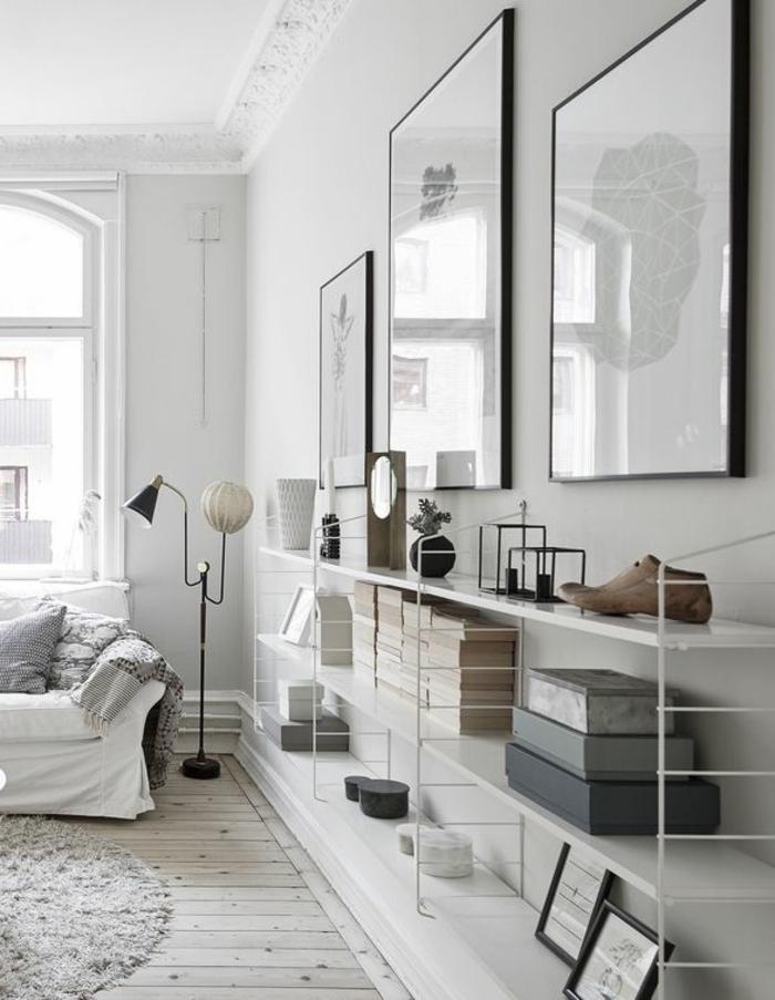 dekoration-im-wohnzimmer-minimalstische-ausstattung