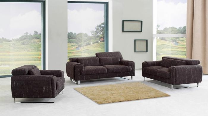 dekoration-im-wohnzimmer-moderne-möbel
